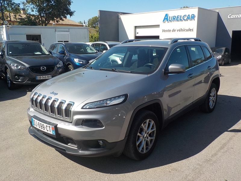 Jeep CHEROKEE 4WD 2.0 MULTIJET 140CH LONGITUDE ACTIVE DRIVE I 4WD Diesel GRIS Occasion à vendre