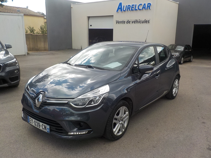 Renault CLIO IV 0.9 TCE 90CH ENERGY BUSINESS 5P Essence GRIS Occasion à vendre