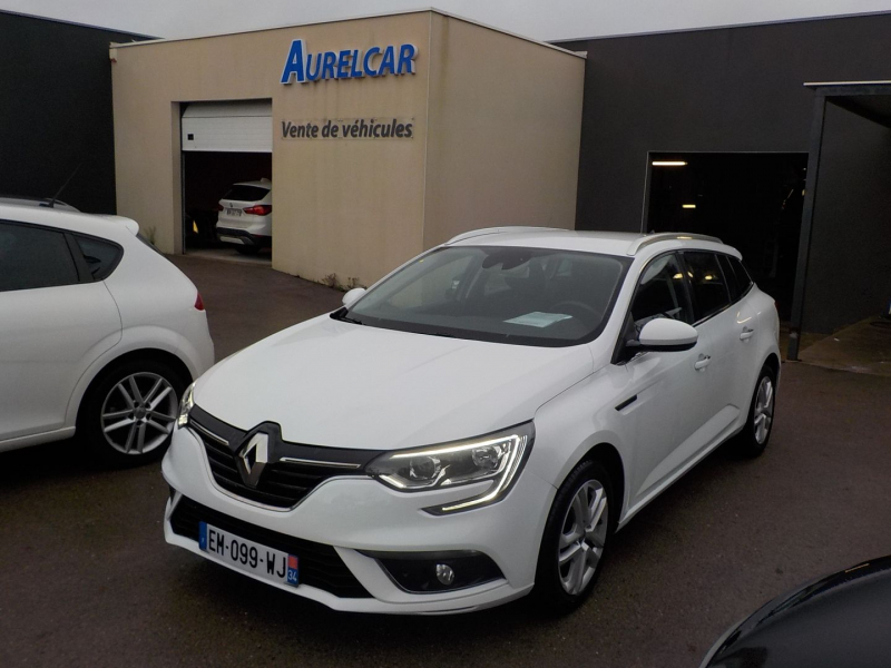 Renault MEGANE IV ESTATE 1.5 DCI 110CH ENERGY BUSINESS ECO² 90G Diesel BLANC Occasion à vendre